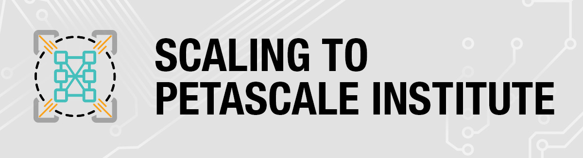 Scaling to Petascale Institute Logo